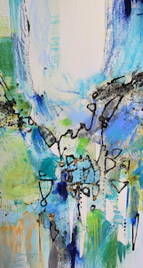 <b>Blue and Green Series 11</b><br/>16 x 28<br/><br/>