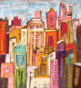 <b>City Color VIII</b><br/>22 x 20<br/>Sold<br/>