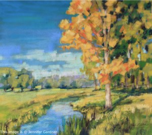 <b>Early Fall</b><br/>20 x 18<br/>Sold<br/>