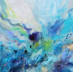<b>Flow Blue 6 (Acrylic)</b><br/>36 x 36<br/><br/>
