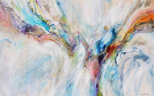 <b>Flow Blue 8 (Acrylic)</b><br/>48 x 30<br/><br/>
