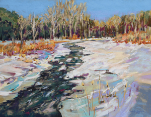 <b>Icy Waters</b><br/>24 x 18<br/><br/>