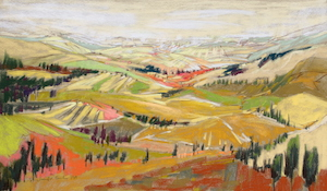 <b>Rolling Hills Tuscany</b><br/>28 x 16<br/>Sold<br/>
