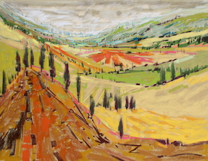 <b>Tuscany XIII</b><br/>24 x 18<br/>Sold<br/>