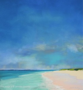 <b>Turquoise Waters</b><br/>Image Size 16 x 18<br/>Framed Size 24 x 26<br/>Sold<br/>